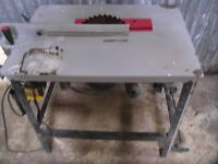 240 volt saw bench / bench saw