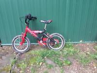 """14"""" Power Rangers bike"""