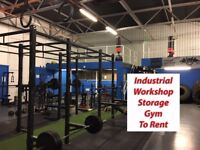 Workshop Industrial Storage Gym In TS24 - To Rent