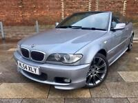 2004 STUNNING BMW 320CI CONERTIBLE / ALLOYS / FULL LEATHER / CDSYSTEM / JUNE MOT .
