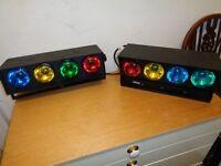 Disco lights x2