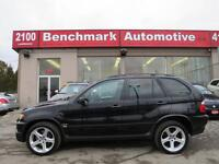 2002 BMW X5 4.6IS-M PKG-NAVI-PDC-20' RIMS-NEW TIRES+BRAKES-CDN