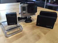 GoPro HERO 3+ Black plus extra battery and Battery BacPac