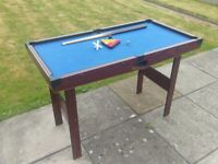 Small Pool Table for sale