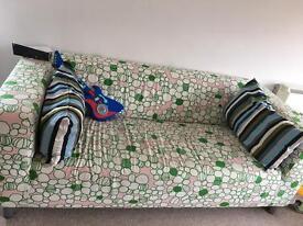 Ikea Klippan sofa and cover