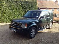 2009 discovery 3 dark green , 7 seats black leather