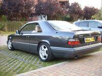 Classic MERCEDES-BENZ E220 COUPE W124 MOT BBS