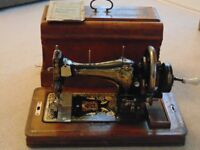 FOR SALE: FRISTER & ROSSMANN'S SEWING MACHINE