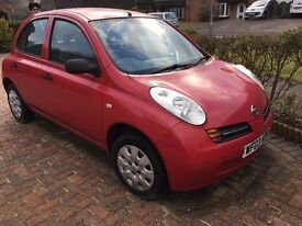 2003 Nissan Micra E 1.0L, Petrol, Ideal First Car, Spares or Repairs