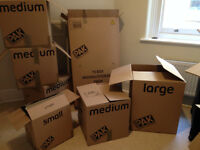 Moving house? *** House removal boxes * StorePAK Moving House Pack - 15 Boxes * used once