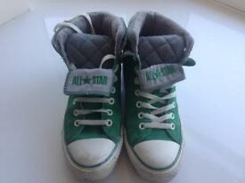 Converse size 8 high tops