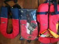 Life jackets x3