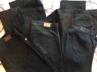 Hugo Boss men's casual trousers/jeans bundle x5
