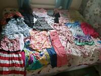 Huge bundle of girl's clothes age 7 - 10