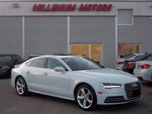 2016 Audi A7 3.0T AWD PROGRESSIV / NAVI / LEATHER / SUNROOF
