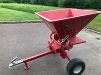 ATV Quad Bike Tow Bar Fertiliser Seed Sand Grit Spreader Neilsen 350lb for sale  East Grinstead, West Sussex