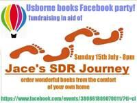 Fundraising facebook book party