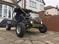 2008 ROAD LEGAL 250cc BUGGY QUAD ATV GO-KART (Not Yamaha raptor, spyracing, venom, off road)