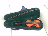 vintag(1960) Universal SV-100 3/4 Violin WITH Case +Bow
