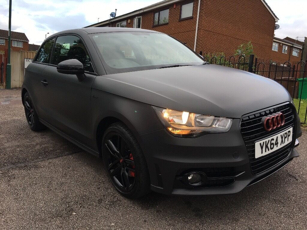 audi a1 s line matt grey 1 4 turbo in rise park nottinghamshire gumtree. Black Bedroom Furniture Sets. Home Design Ideas