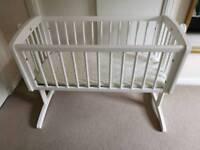 Mothercare Swinging Crib for baby, newborn