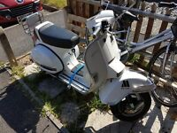 Lml 125 vepsa 4 stroke, manual.geared.