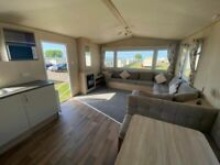 Static caravan for sale £397pm - 3 bedroom holiday home - used holiday home, like new