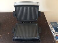 Large George Foreman Grill - Clean and fully functional. Added bonus of heat control