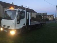 Ford euro cargo , recovery / drop tail , 7.5 ton , not sliding tilt , transit , Renault , Citroen