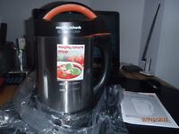 Morphy Richards Soupmaker - Stainless Steel - New, unused, in all original packaging, purees & cooks
