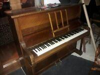 Danemann full size piano, in good order,