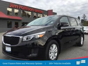 2017 Kia Sedona LX 8 Pass, w/rear cam, heated seats + more