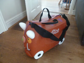 GRUFFALO TRUNKI RIDE-ON SUITCASE BROWN (LIMITED EDITION)