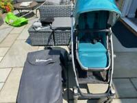 UPPAbaby Vista Travel System - pushchair, carrycot and accessories