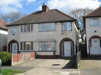 Newly THREE bedroom house to RENT in SELLY OAK ** WORKING PROFESSIONALS ONLY**