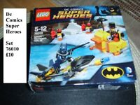 Lego superheroes set £10 no offers collection from Didcot smoke and pet free home