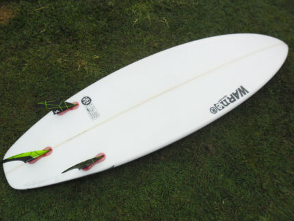 Near brand new Warner Surfboard