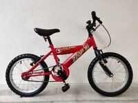"(3071) 16"" RALEIGH ZAPP 16 - MISSION 2 BOYS GIRLS KIDS CHILD BIKE BICYCLE Age: 5-7, 105-120 cm"