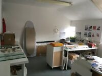 Beautiful bright artists Studio in Kennington £176.58pcm. Perfect for artists with a clean practice.