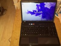 Sony Vaio VPCCB3P1E, i5 2.4, 6gb ram, 640gb hard drive on windows 7 with blu-ray