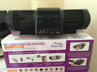 Heaven Fresh Ionic Air Purifier / Ioniser 60M negative ions w/Fan & UV Lamp