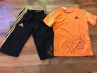 Boys Nike t shirt and shorts