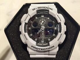New G-Shock Casio Watch GA-100L-7A