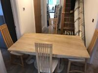 6 Seater Marble Table And Chairs