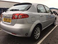 **Chevrolet Lacetti 1.6 SX 2009/59 plate 5 Door Manual SILVER**
