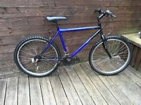 ADULT MOUNTAIN BIKE WITH 18 GEARS 26 INCH WHEELS