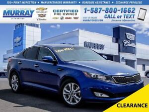 2012 Kia Optima EX Turbo**One Owner!  Leather!**