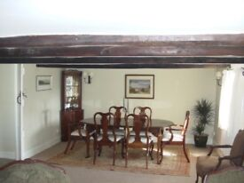 Dining table & 6 chairs, solid Cherry