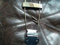 Trapeze Tailpeice Solid Steel