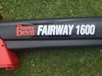 Power Devil Fairway 1600 Garden Hoover and leaf Blower £20